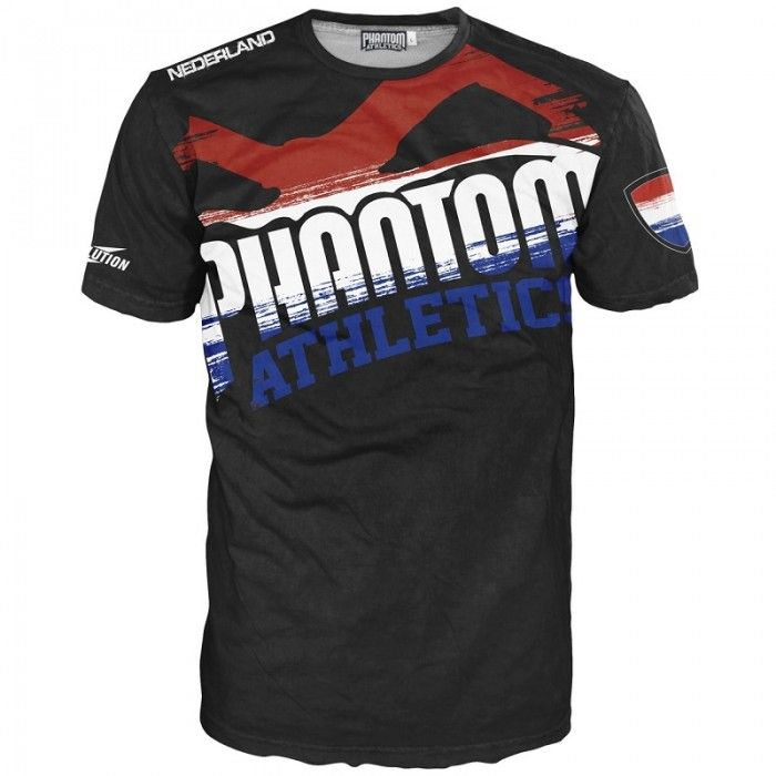 "Phantom MMA T-Shirt ""The Netherlands"""
