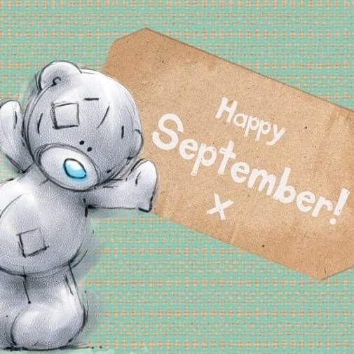 Happy September ☆ Tatty Teddy ☆