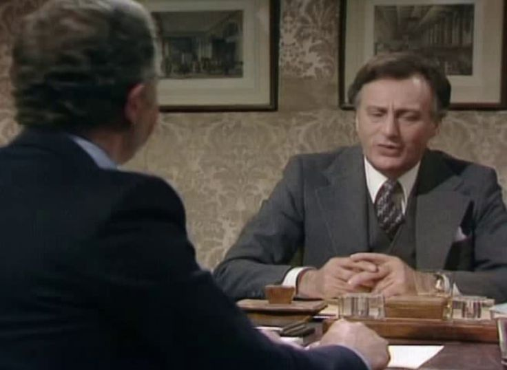 'Yes, Minister' sketch about the secrets of British foreign policy on Europe; United Nations and diplomacy. - The Writing on the Wall (S1E5) First airtime BBC: 24 March 1980