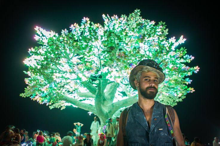"Erthal says he noticed many among the 70,000 participants at this year's Burning Man who were there for the first time. He found most of them had misconceptions about the art festival. ""A lot of people thought they were going to Coachella,"" Erthal said."