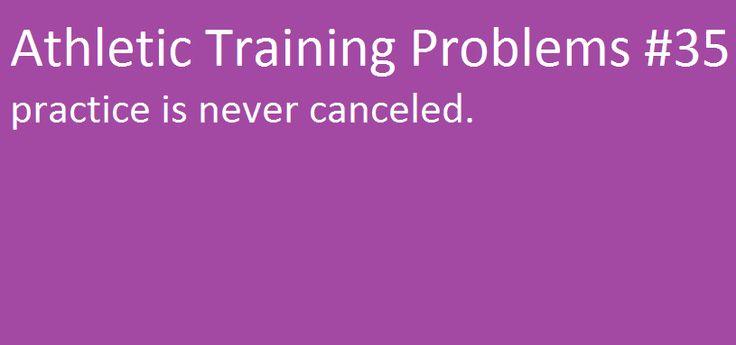 Athletic Training Problems