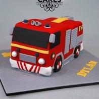 Fireman Sam Fire Engine Cake #fireman #sam #episodes