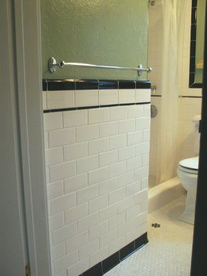 Good Home Construction's Renovation Blog: 1920's Bungalow Bathroom with Custom Vanity