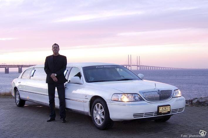 Hyr Exklusiv Limousine till Bröllop i Skåne