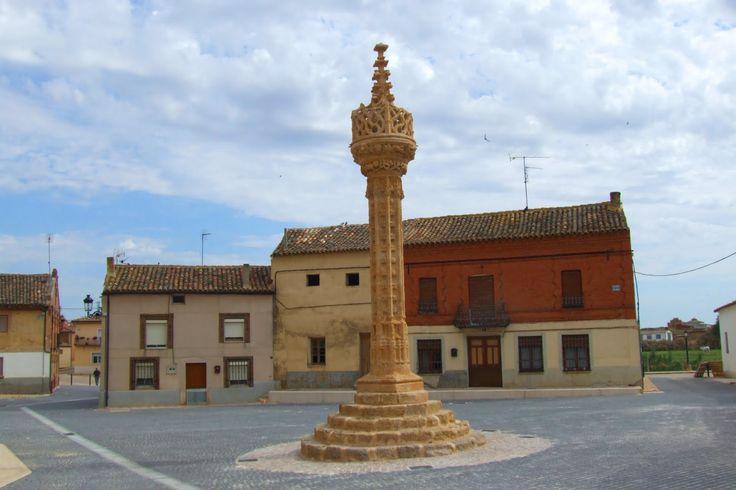 Rollo gótico de Boadilla del Camino, Palencia