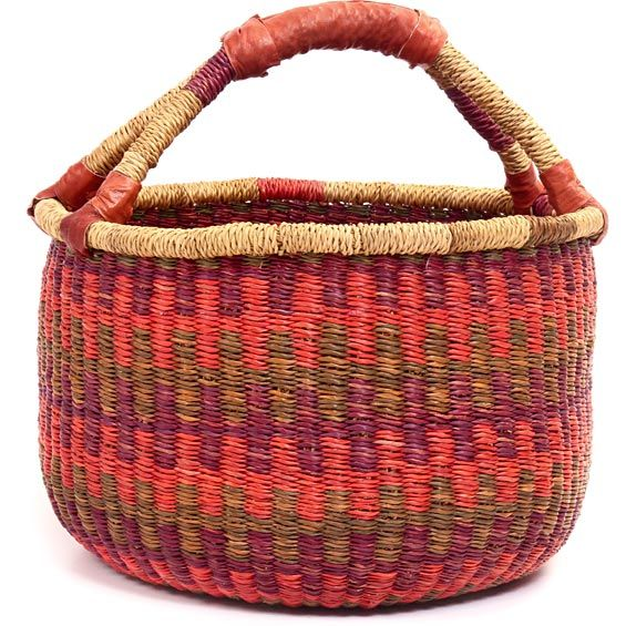 African Baskets: 36 Best African Bolga Baskets From Ghana Images On