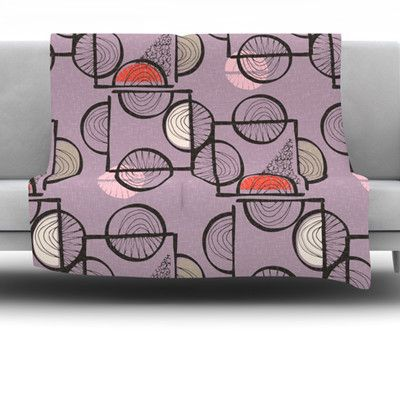 East Urban Home Emmanuel Fleece Throw Blanket Size: 60'' L x 50'' W