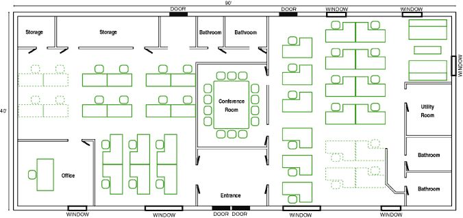 Open Floor Office Layouts How Should I Set Up Our New