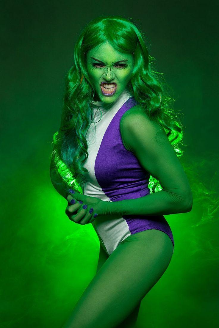 She-Hulk Costume / Cosplay | Lycra | Fabric Land