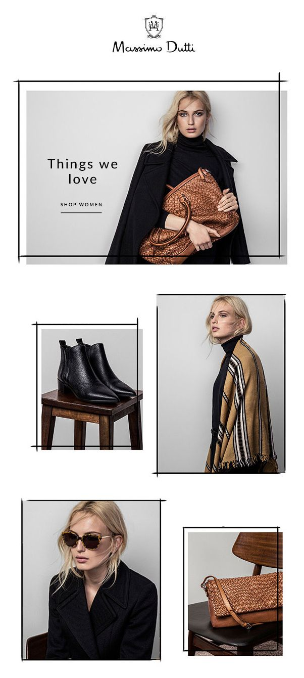 Massimo Dutti – Things We Love                                                                                                                                                                                 Mehr