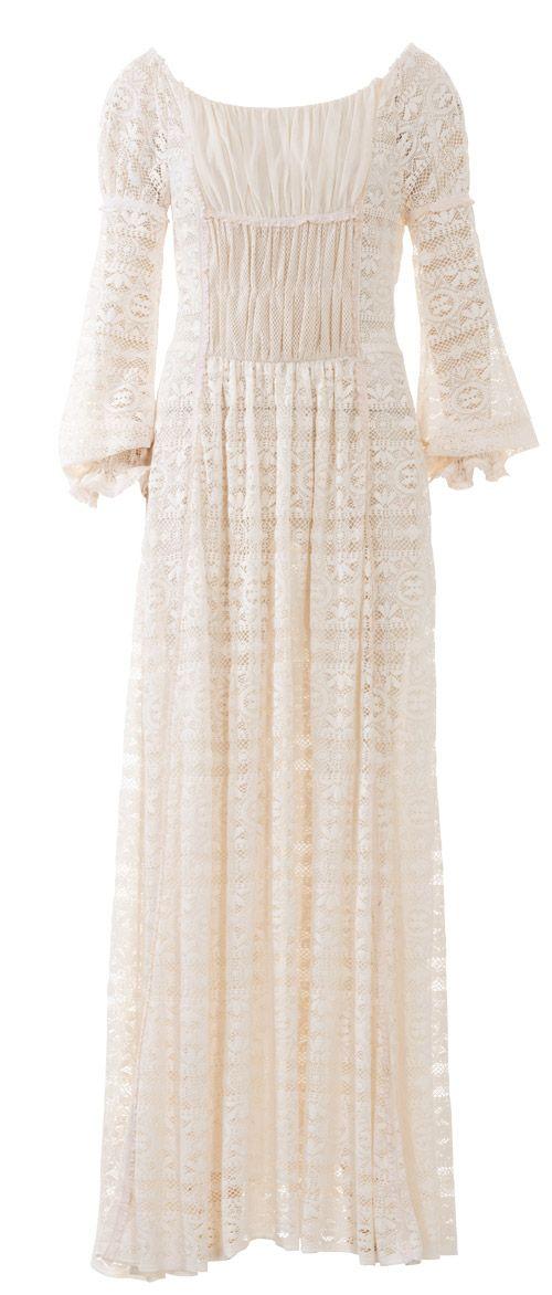 Платье в стиле бохо - выкройка № 105 из журнала 5/2015 Burda – выкройки платьев на Burdastyle.ru