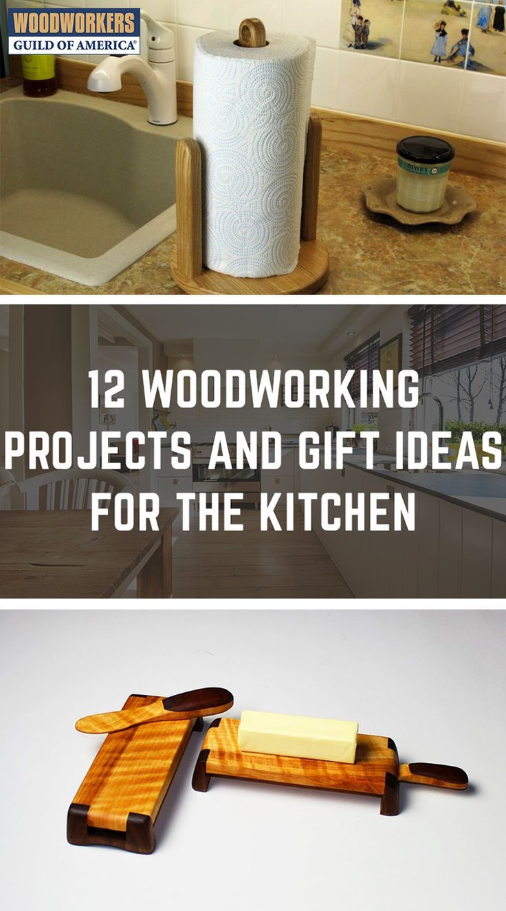 12 Woodworking Project And Gift Ideas For The Kitchen Crafts