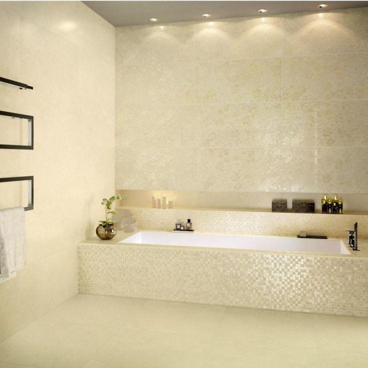 Les 25 meilleures id es concernant salle de bain beige sur for Carrelage salle de bain beige et marron