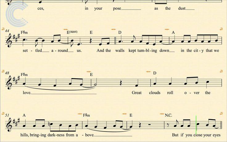 la bastille chords