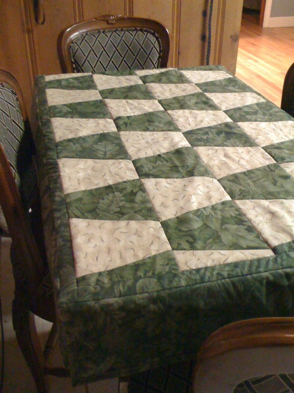 31 best Quilted Table Cloths images on Pinterest | Towels, Tray ... : quilted tablecloth table linens - Adamdwight.com