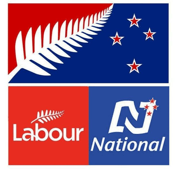 Flag critiqued for similarities to political parties' logos - National - NZ Herald News