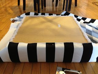 Ikea Lack Side Tables Turned Ottomans by Genevieve of Turned to Design