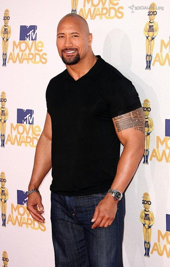 Dwayne Johnson. Good Lord, Thank you for Samoan men!!
