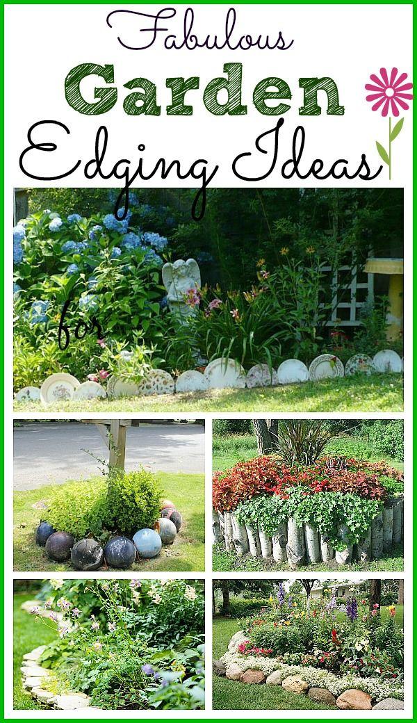 Pinterest garden edging ideas photograph garden edging for Garden border ideas