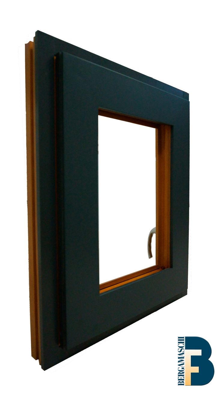 Our Alu-clad Windows are made of all kind of timber on the inside with the extra protection of aluminium cladding on the external side of the window