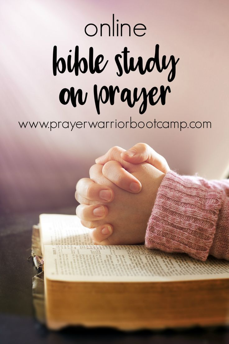 Looking for an online Bible Study on Prayer? Check out the Prayer Warrior Boot Camp.
