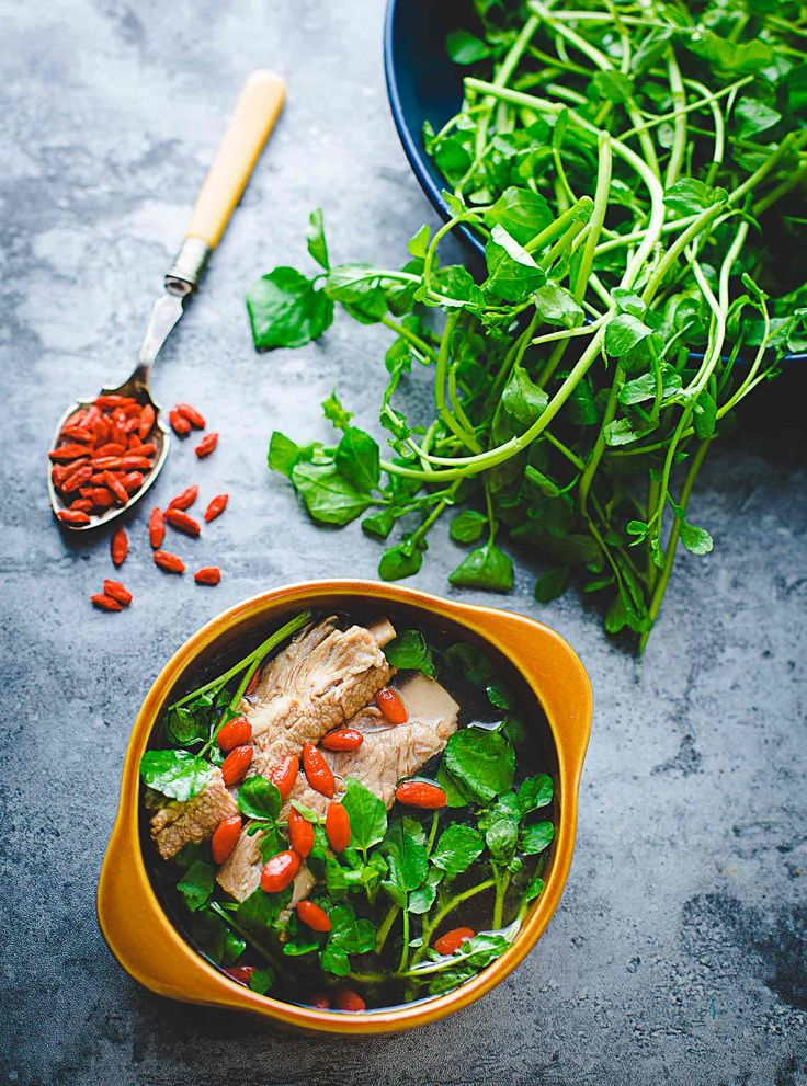 Junk food tastes really amazing, but the super foods don't always taste as good. Watercress and Goji Berry as super foods have been increasing…