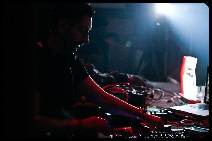 Mahony warming up for Dubfire- Kristal Club Bucharest - 2014