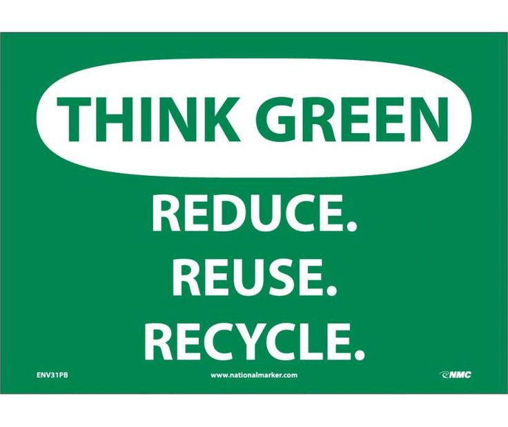 best recycle images earth day reduce reuse think green reduce reuse recycle 10x14 040 aluminum