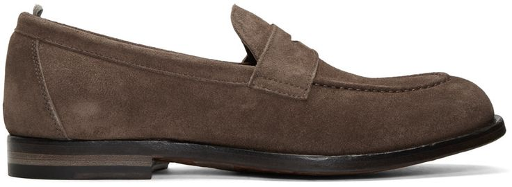 OFFICINE CREATIVE Brown Ivy 2 Loafers. #officinecreative #shoes #flats