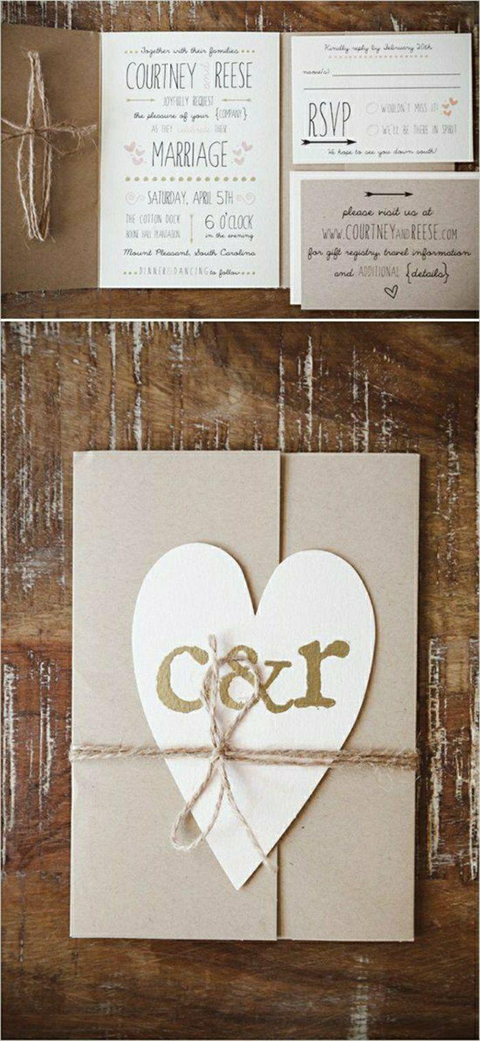 tarjetas de casamiento rústicas - Google zoeken