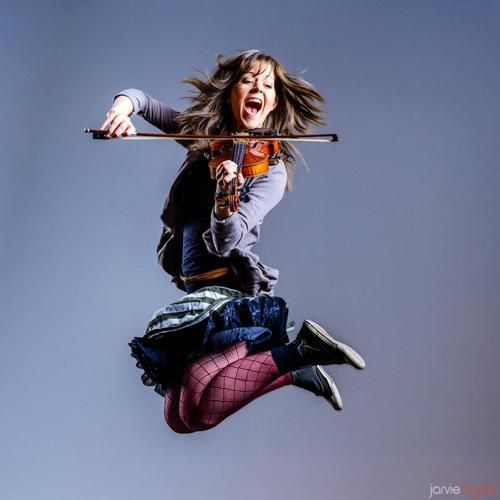 Lindsey Stirling - the violinist who can rock like no other. <3