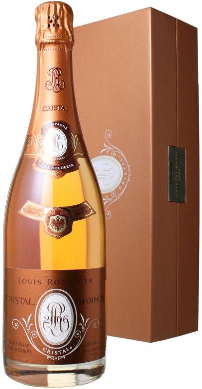 (d0849)ルイ・ロデレール クリスタル・ロゼ [2006] <ロゼ> <ワイン/シャンパン>
