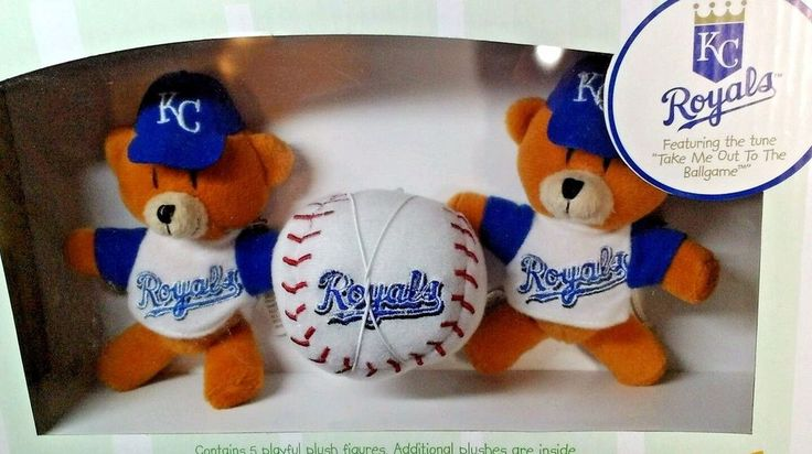 Kansas City Royals Musical Mobile Officially Licensed by MLB New in box #Mascotopia #KansasCityRoyals
