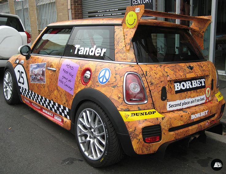 MINI, Themed, Full Vehicle Wrap, Corkboard Theme