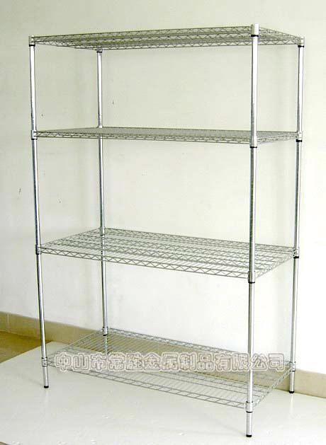 NSF Heavy Duty Rolling Chrome Wire Shelving ( load 500lbs / shelf ) (CJ12060180A4C) - China Wire Shelf, WELLAND