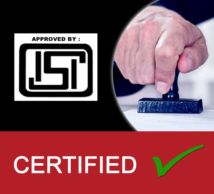 Get your product imprinted with trusted ISI Mark to reflect the quality in your product. ISI Certification is a quality certification for products defined under different categories such as cement, household electrical goods, foods and related products, oil pressure stoves, automobile accessories, cylinders, valves & regulators, medical equipment, steel products and electrical transformers.