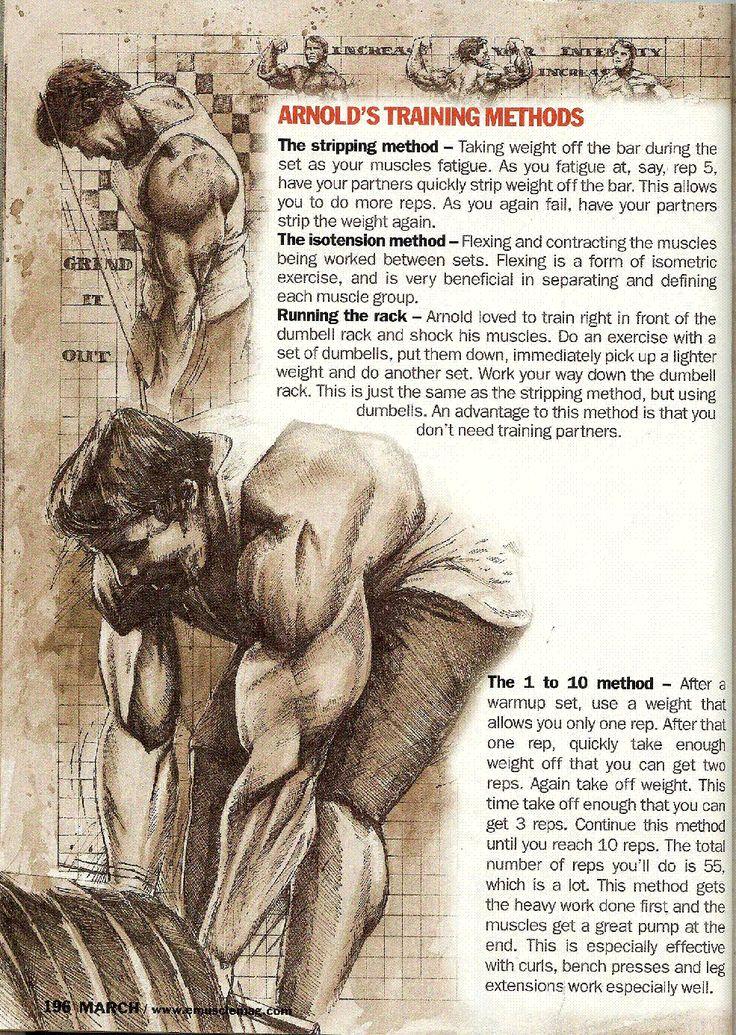 Arnold Schwarzenegger | 007 - Arnold's Training Methods