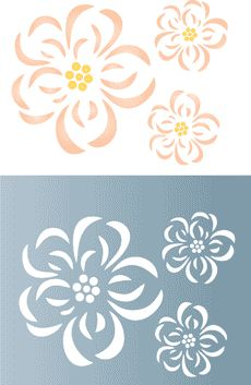 869 Best Images About Stencil On Pinterest Shape Free
