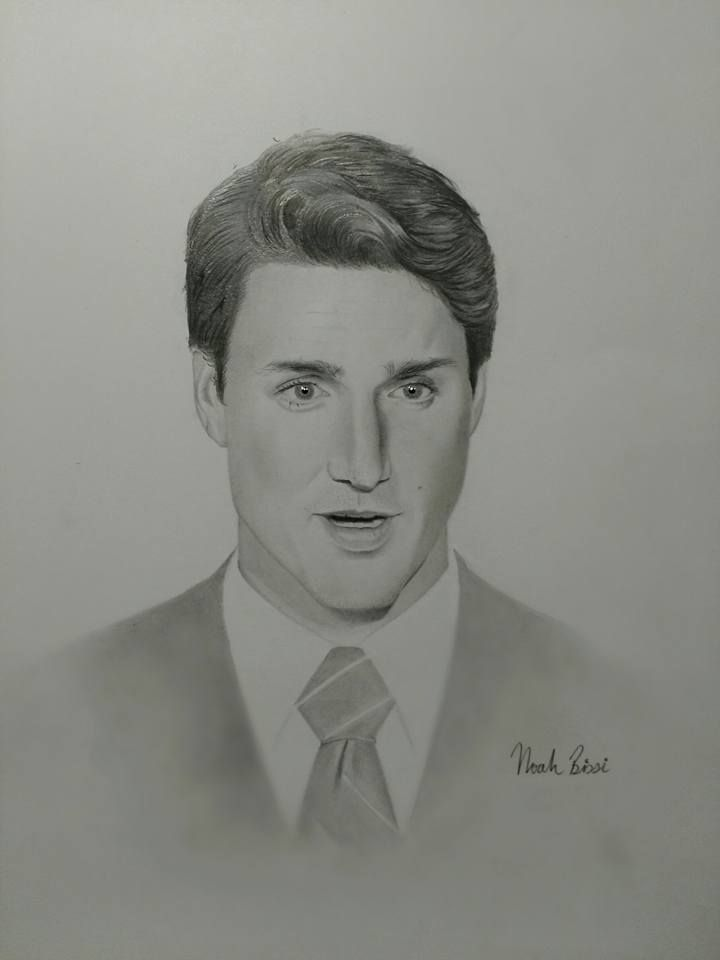 Justin Trudeau - Prime Minister of Canada by Noah Bissi
