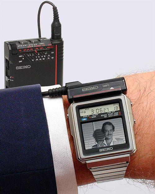Seiko TV Watch (1982).