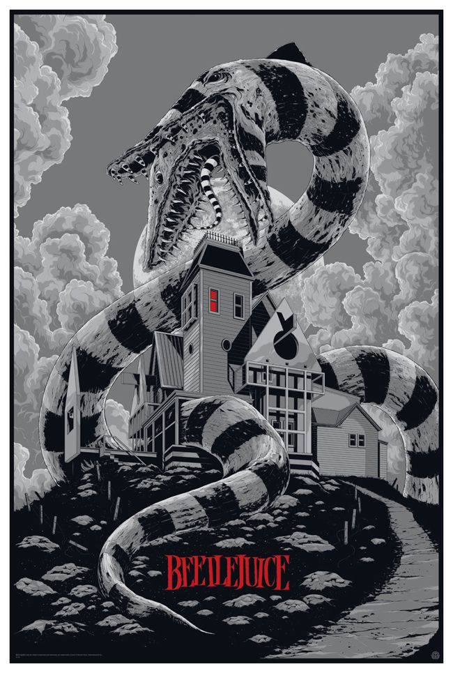 Cool BEETLEJUICE Mondo Poster Art from KenTaylor - News - GeekTyrant