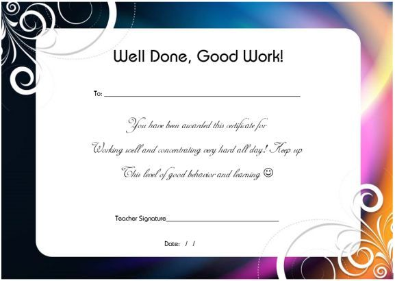 thank you certificate template  u2013 25  templates for free