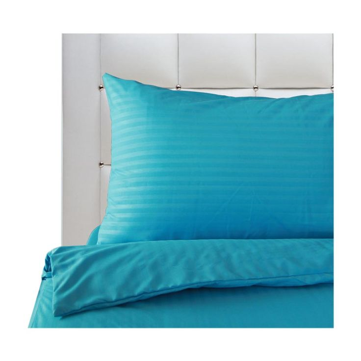 Mezzo Pure Cyan Blue Bedding Set - Mandaue Foam Philippines | Furniture | Bed Mattress