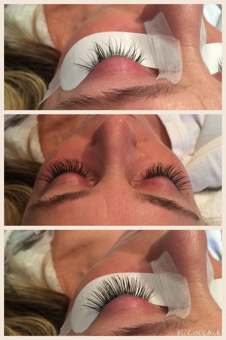 A Before and After Shot of Misencil Lash Extensions! Done by Jayme!!