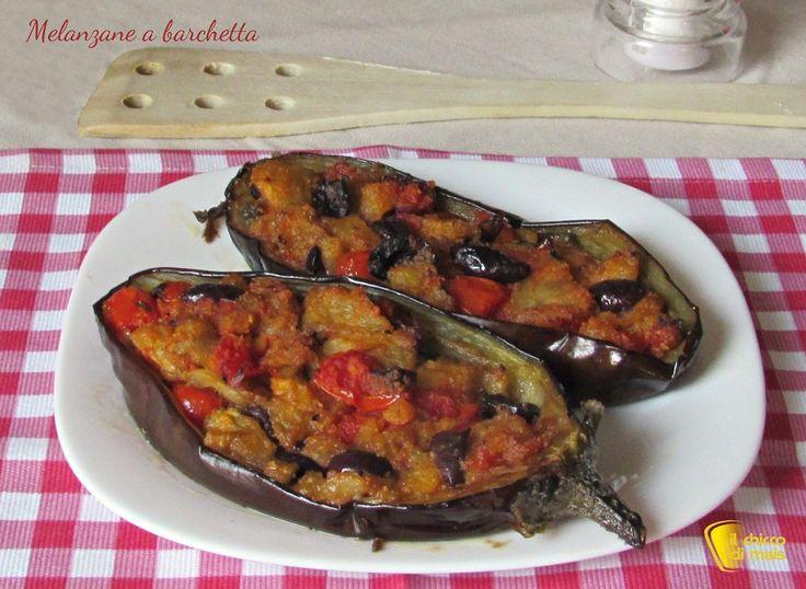 melanzane a barchetta ricetta tradizionale il chicco di mais