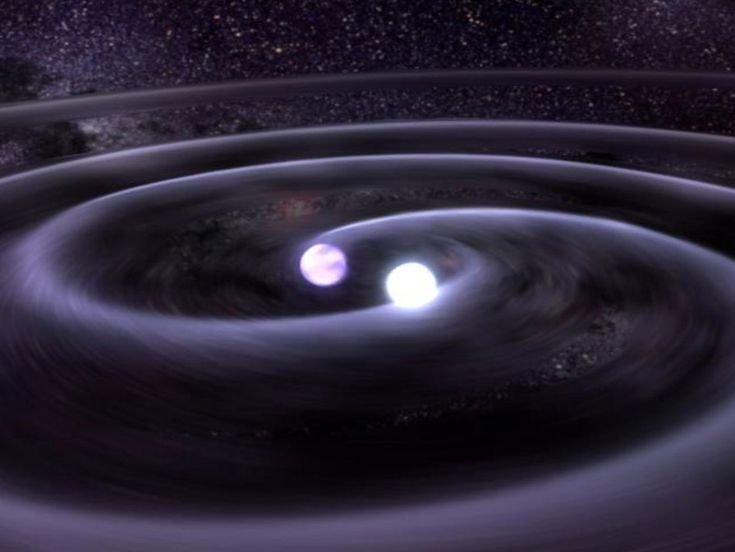 NASA - White Dwarf Star Spiral
