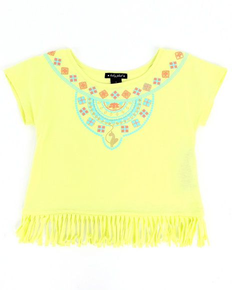 26.00 The AZTEC FRINGE TOP (2T-4T) by Baby Phat
