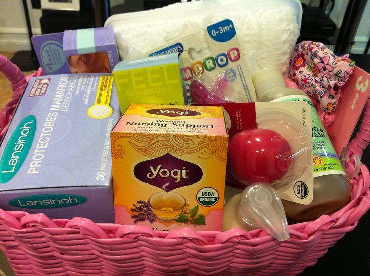 Baby Gift Basket Essentials : Mommy baby basket shower gift essentials for