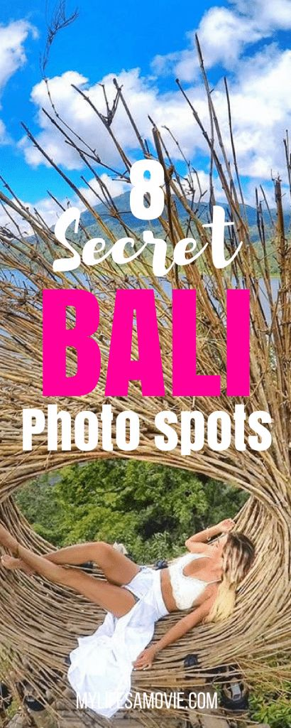 8 NEW Bali Photo Spots You Didn't Know Existed