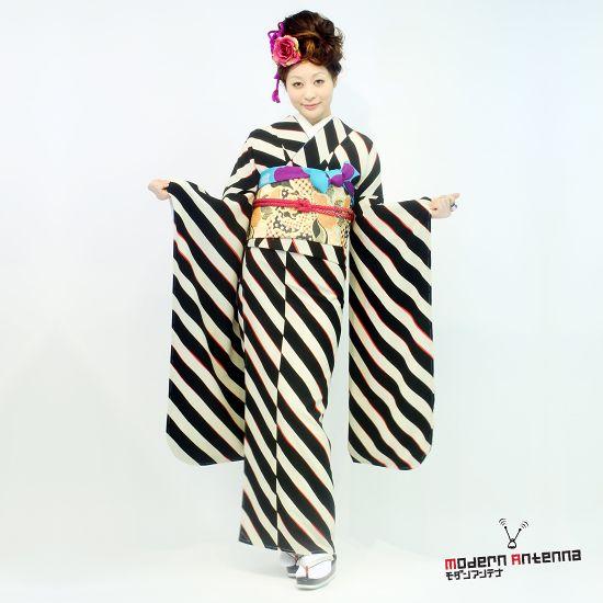 Mod Pop Punk: Contemporary Kimono by Modern Antenna 30